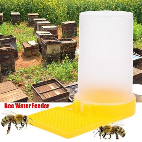 Plastic Keeping Water Equipment Beekeeper Drinking Feeder Bee Hive Beekeeping