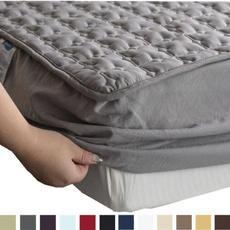 mattressprotect, Cotton, mattresspad, quilted