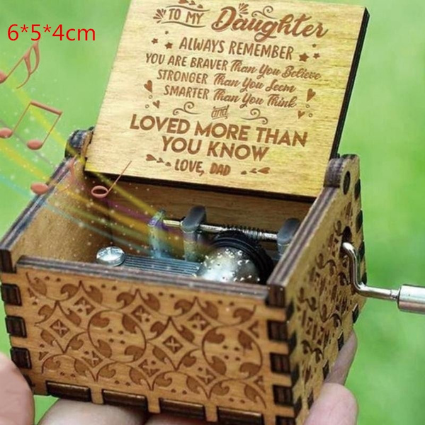 Box, Toy, musicbox, Wooden