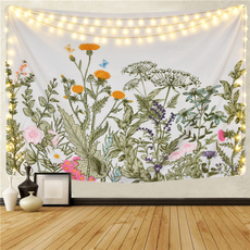 Flowers, Floral, walltapestry, Colorful