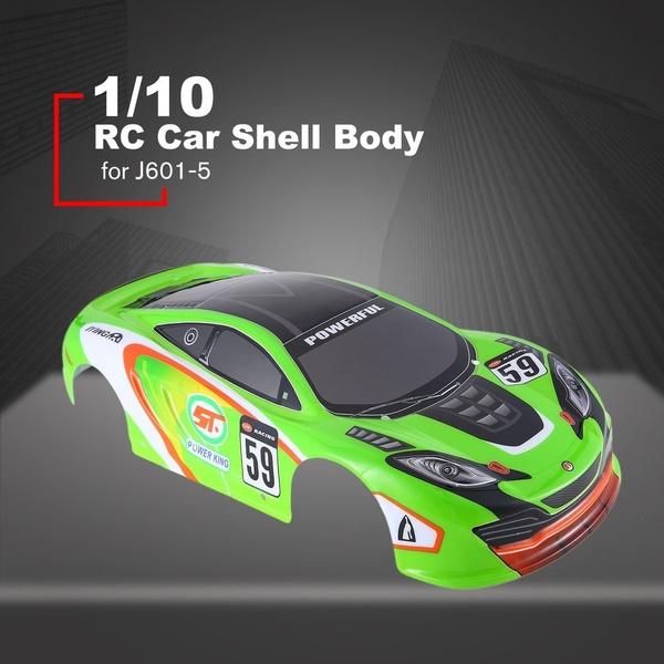 RC Car Shell Body for J601-1/J601-2/J601-5/J601-7/J601-8/J601-9 1/10 RC  Racing Car Flat Sports Drift Vehicle Toys BK