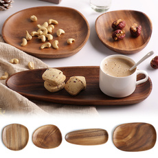 woodplatedish, fruitplate, Irregular, fruitdish