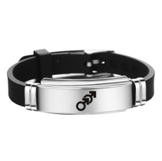 Charm Bracelet, Steel, lgbtpride, Jewelry