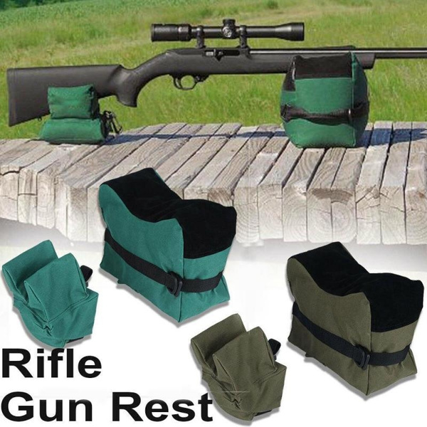 Swell Front Rear Shooting Range Sand Bag Rifle Gun Pistol Bench Rest Stand Pdpeps Interior Chair Design Pdpepsorg