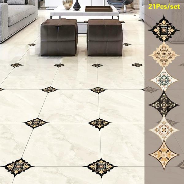 Self Adhesive Pvc Ceramic Tile Stickers