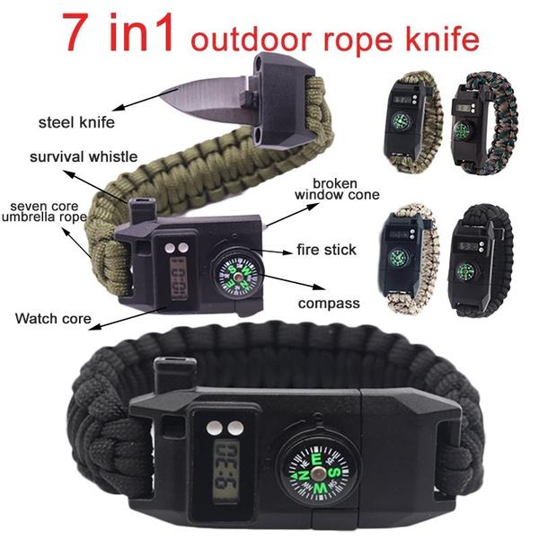 Adjustable Camera Wrist Strap Bracelet Paracord Outdoor survival umbrella rope