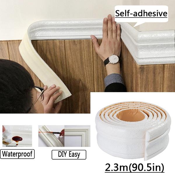 2 3m Waterproof Wallpaper Border 3d Pattern Wall Decor Removable