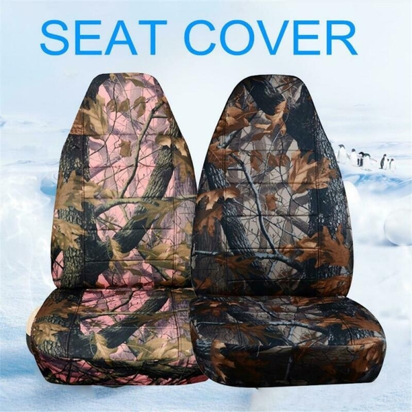 Wish | Camouflage car seat cover front seat for large vehicles such as SUV pickup trucks