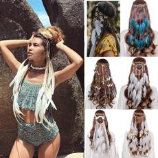 featherheaddre, butterflyheadpiece, Fashion, peacock