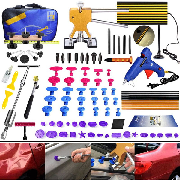 Paintless Car Hail Damage Dent Remover Repair Tool Kits Auto Dent Puller Tools