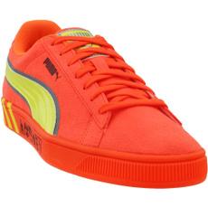 Athletics, Orange, Sneakers, Casual