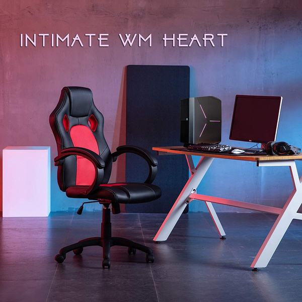 Pleasant 1Pc Gaming Chair Intimate Wm Heart High Back Office Chair Desk Chair Reclining Computer Pc Chair Short Links Chair Design For Home Short Linksinfo