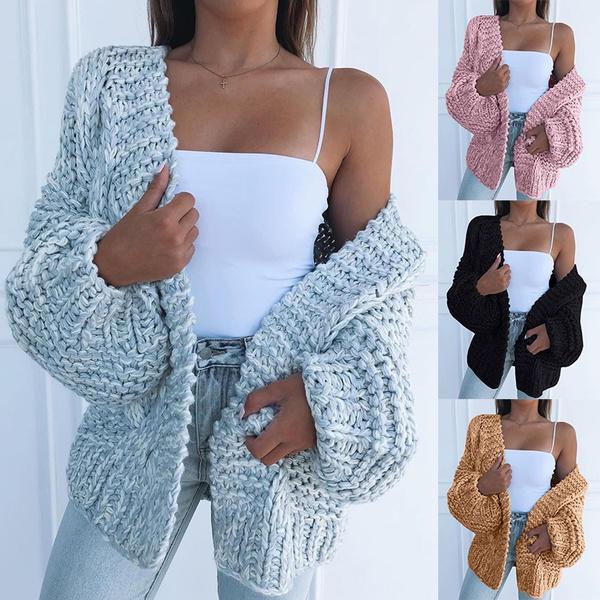 casual coat, autumnandwintersweater, Women Sweater, Fashion