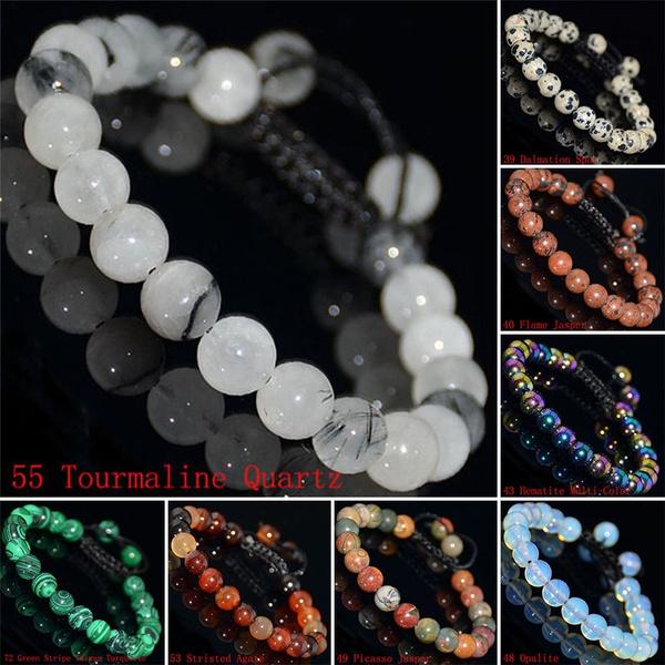 8MM, macrame, Jewelry, Bracelet