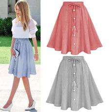Women, Plus Size, high waist, Dress