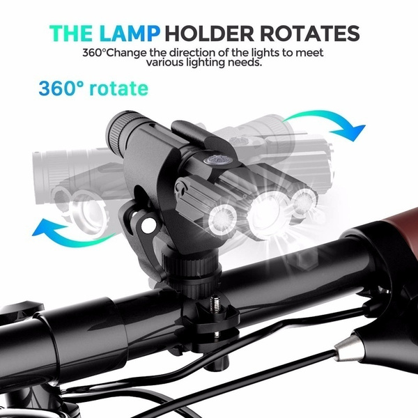 Rechargeable MTB Road Bicycle Bright Bike Front Headlight Lamp Direction Light