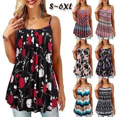 Summer, fashion women, Plus Size, Tank
