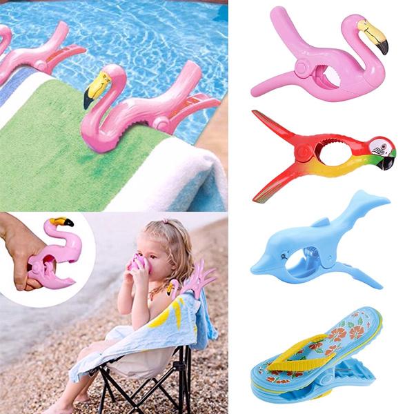 plasticclip, flamingo, Towels, Clip