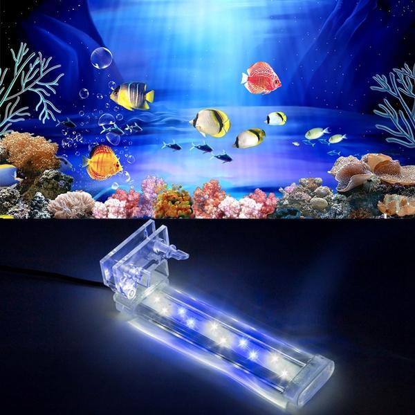 Bar Light Aquariums Decor Waterproof Fish Tank Clip Light Underwater Clip Lamp Aquarium Lamp Aquarium Led Lighting