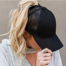 Summer, ponytailhat, Fashion, Hats