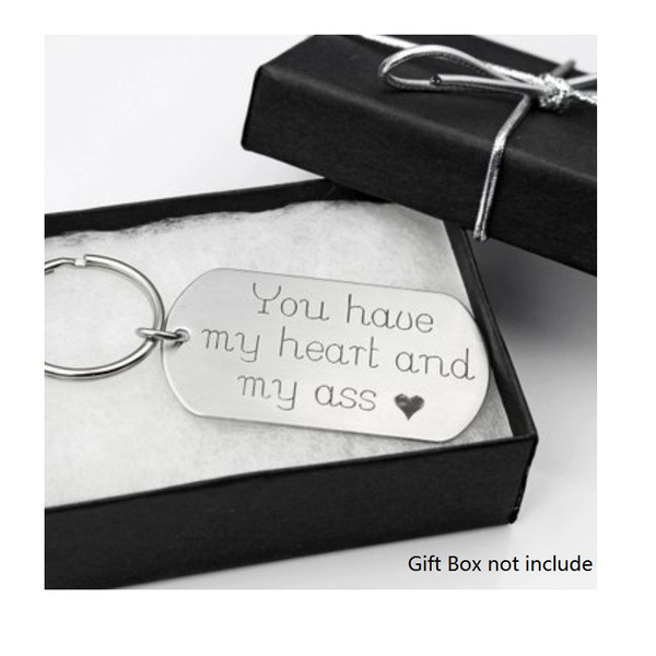 Steel, Funny, Key Chain, gift for him