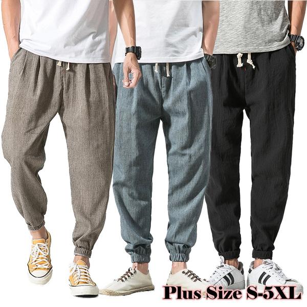 drawstringpant, harem, elastic waist, Long pants