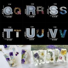 Jewelry, Jewelry Making, alphabet, Handmade