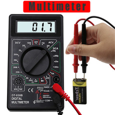 Mini, amperemeter, digitalmultimeter, Tool