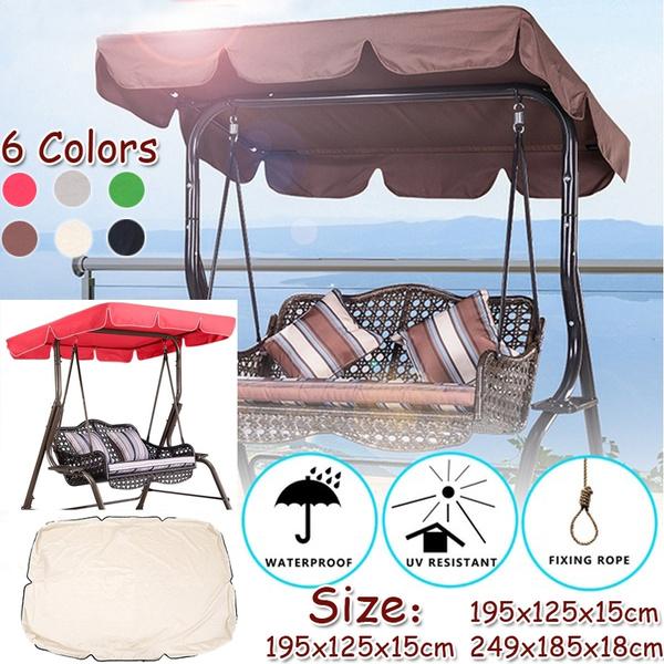 Cover Outdoor Garden Patio Swing Canopy
