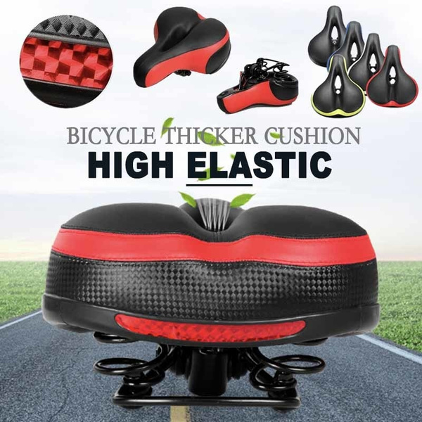 Soft Chair Thick Wide Bicycle Cycling Saddle Seat MTB Bike Comfortable Cushion
