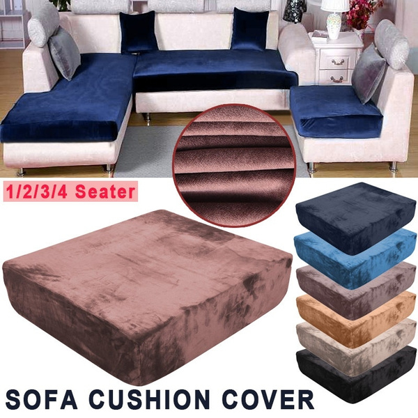 Plush Sofa Cushion Covers