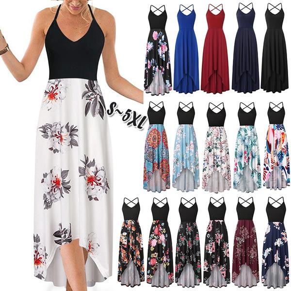 Sleeveless dress, Plus Size, Summer, Dresses