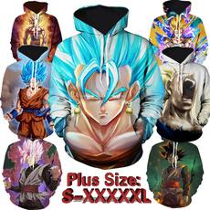 3D hoodies, hooded, Sleeve, Pocket