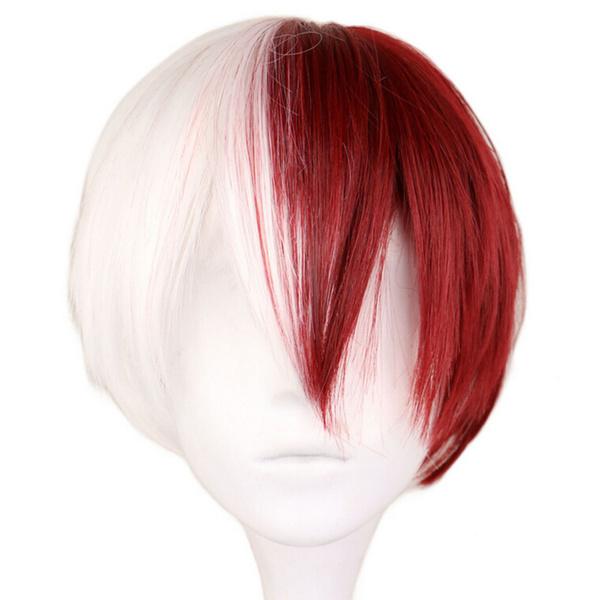 My Hero Academia Boku No Hiro Akademia Shoto Todoroki Shouto Cosplay Wig