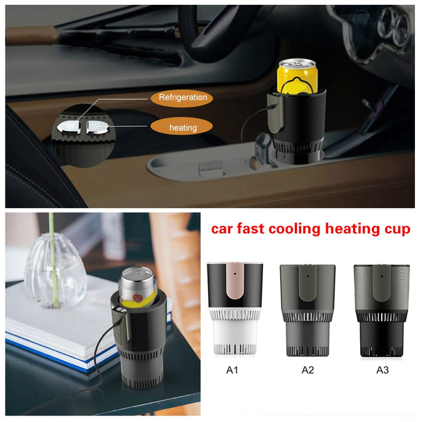 12V Cup Car Refrigerator Cooler Warmer Auto Electric Cup Drink Cooling  Heating Holder