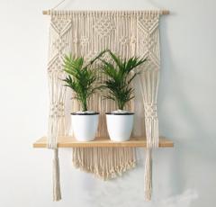 macramepothanger, indoorplanthanger, Plants, ropeplantholder
