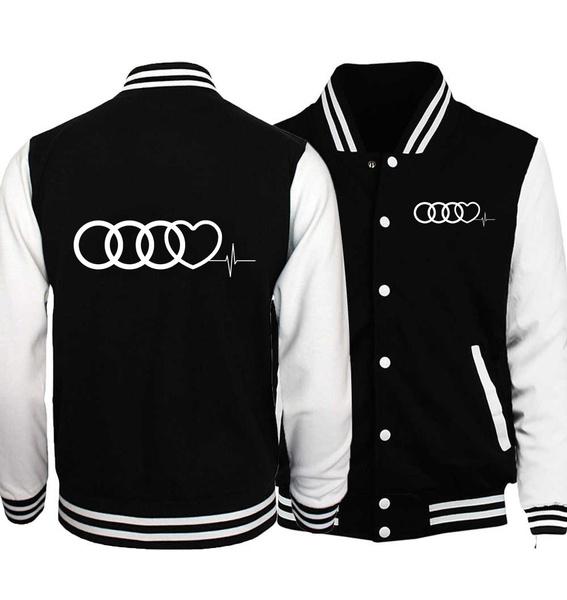 Audi logo Hoodies Black XS-4XL size