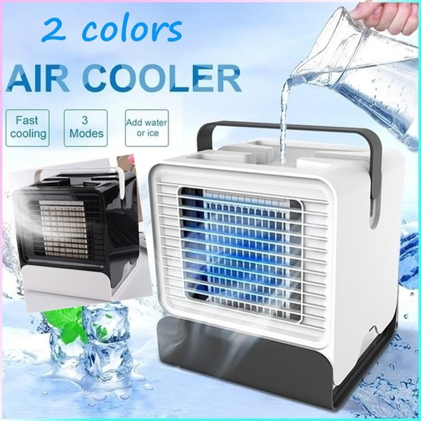 Portable USB Mini Fan Arctic Air Ultra Compact Portable Air Cooler Mini Air  Conditioner Personal Evaporative Portable Humidifier Air Conditioner And ...