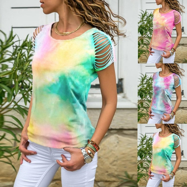 Summer, Tassels, summer t-shirts, Sleeve