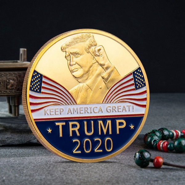 Donald Trump 2020 Keep America Great Commemorative Challenge Coin Eagle  Coins