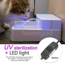 petwaterfountain, led, Electric, waterfountainforpet