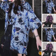 piranhaprint, Shirt, Sleeve, long shirt