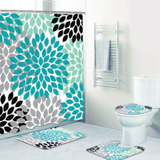 Turquoise, Bathroom Accessories, bathroomdecor, Home Decor