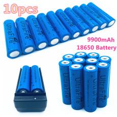 9900mAh Li-ion Rechargeable Battery For Flashlight Headlamp