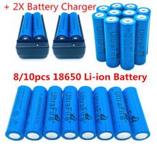 4pcs UltraFire Powerful 3 7V 6800mAh Rechargeable 26650 Li