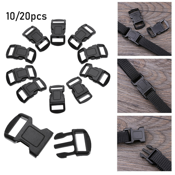 Buckle Paracord Bracelet Accessories Outdoor Bag Buckles Strap Webbing Tool
