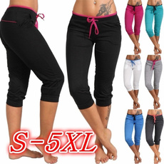 Women Pants, Summer, Plus Size, skinny pants