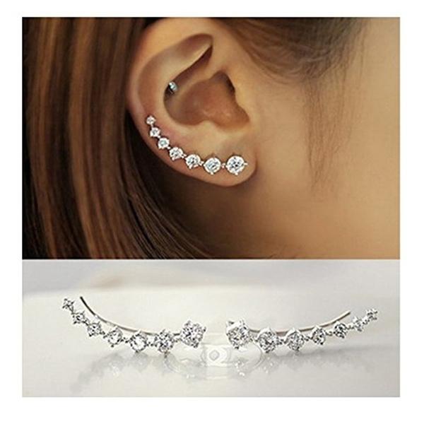 Fashion, earcuffsearring, Jewelry, hypoallergenic