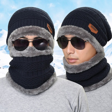 scarffaceneckwarmer, Beanie, hooded, Fashion