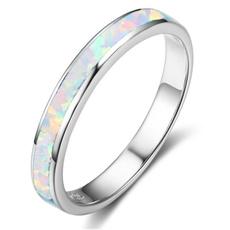Sterling, Blues, Fashion, wedding ring